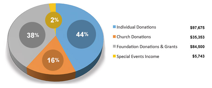 Donation Income Graph